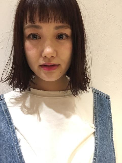 なりこちゃんオン眉1